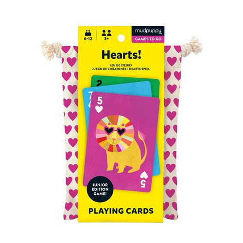 HEARTS! PLAYING CARDS TO-GO