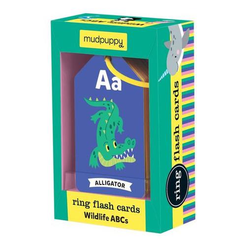 WILDLIFE ABCS RING FLASH CARDS