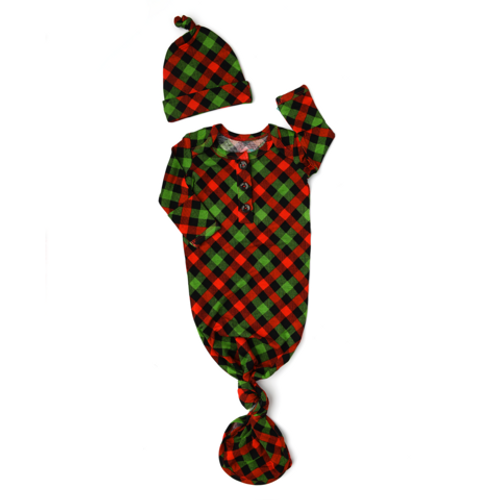 GOWN HAT PAXTON CHRISTMAS PLAID