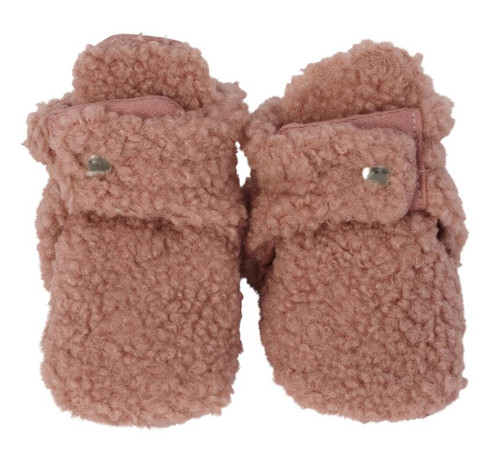 BOOTIE SHERPA PINK