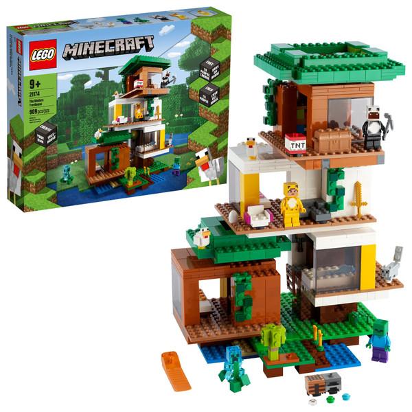 LEGO© MINECRAFT: THE MODERN TREEHOUSE