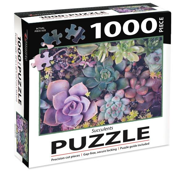 1000 PC PUZZLE SUCCULENTS