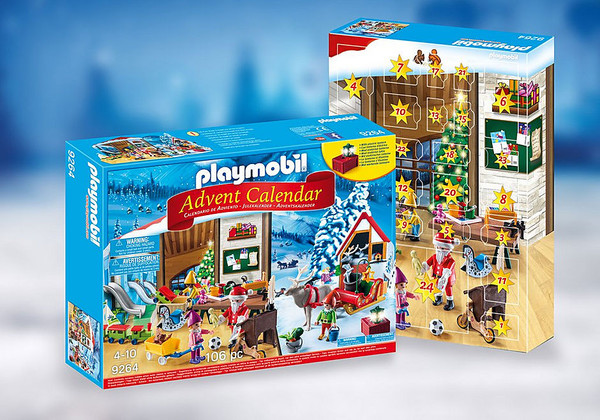 ADVENT CALENDAR SANTA'S WORKSHOP