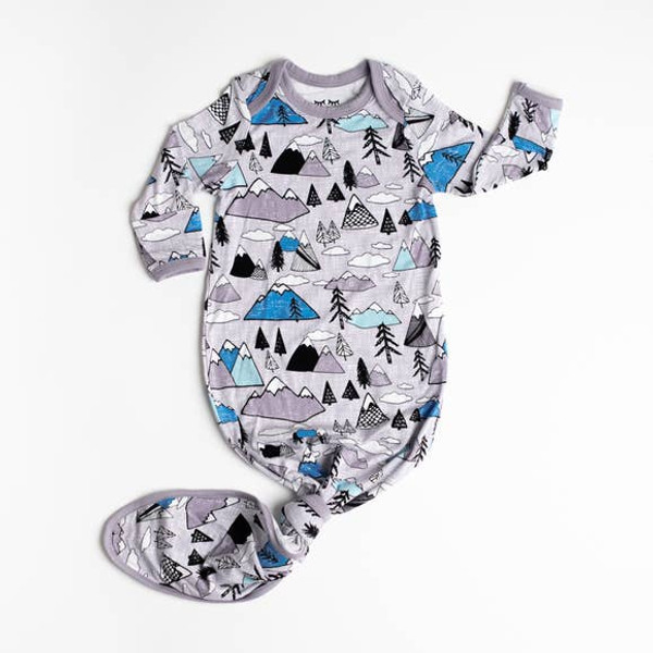 INFANT GOWN MOUNTAINS