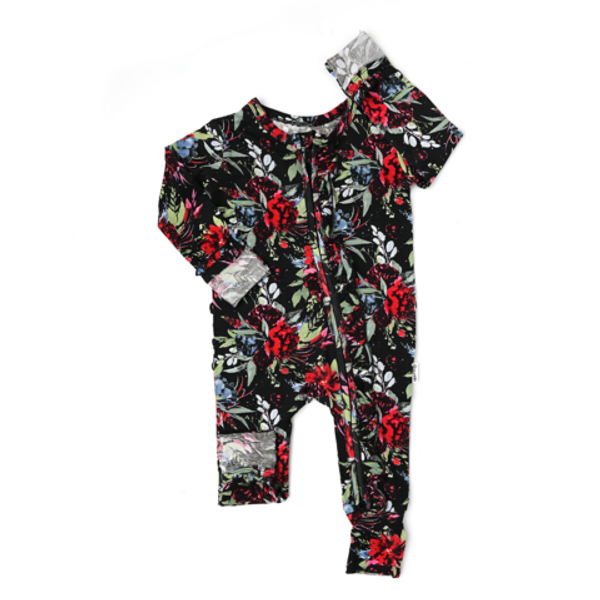 HOLLY FLORAL RUFFLE ZIP
