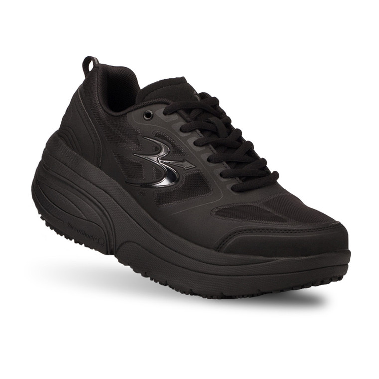 Women's G-Defy Ion Black Athletic Shoes