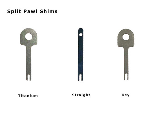 Spring, Steel, Split-Pawl, Handcuff, Shim, Slit, High security