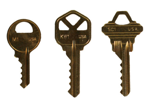 Bump Keys 3 pk