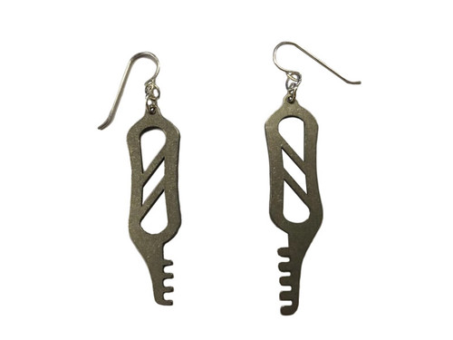 Comb Pick Earrings (LL-E-CMB)