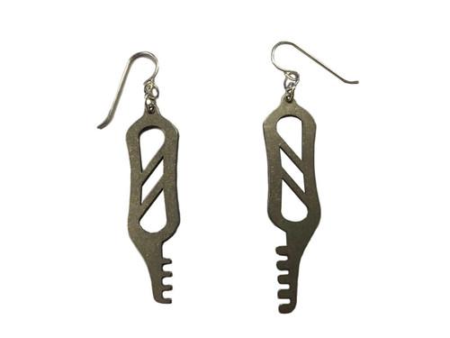 Comb Pick Earrings (LL-E-CMB)
