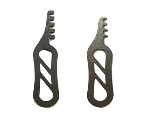 Slotted Titanium Pocket Comb 4 & 5 (CMB-4-5-S)
