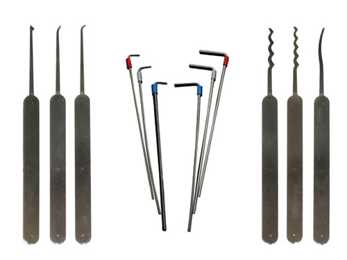 12 Piece 2500 Pick set designed by TOOOL (LPH-12T-2500-B)