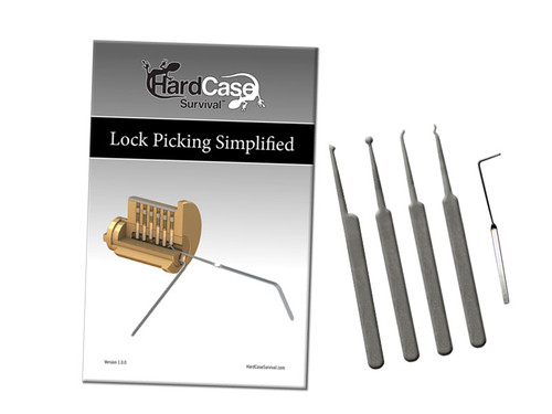 Beginners Lock Picking Kit (BPS-5)
