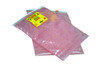 Anti-Static Protective Bubble Pouch with Slider Top, 8.25 x 7.5, Pink, 250/Case