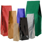 """2-3oz 4 1//4/"""" x 6 1//2/"""" 2.6 Mil Green Aroma Metallized Flat Pouches with Valve 1,000 Bags per Case 1 Case"""