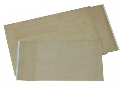 Dura Bag Fiberglass Mailers with Peel & Seal, 12 1/2 x 4 x 20, Natural Kraft, 250/Case
