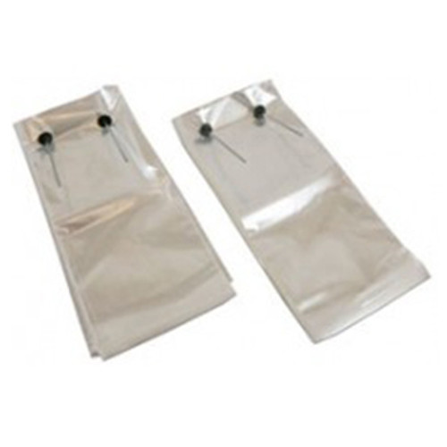 Wicketed Poly Bags, 1 Mil, 9 1/4 x 4 x 15 1/4, Clear, 1000/case