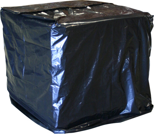 UVI Protective Pallet Top Covers, 51 x 49 x 73, 2 Mil, Black, 55/Case