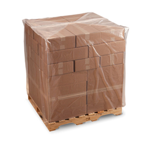 Pallet Covers, 4 mil,  32 x 28 x 72, Clear, 55/case
