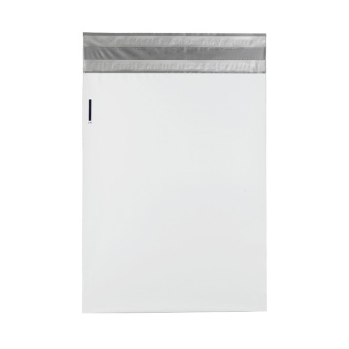 Returnable Poly Mailers, 14 x 17, White, 500/Case
