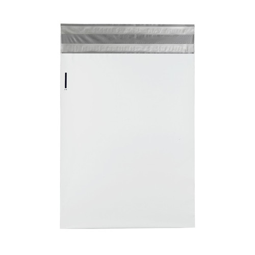 Returnable Poly Mailers, 19 x 24, White, 200/Case