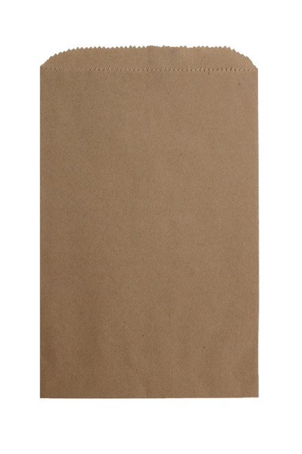 4-3/4 X 6-3/4 RECYCLED NATURAL MERCHANDISE BAG 1000/case