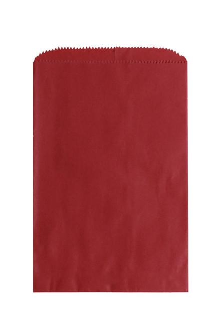 6 -1/4 X 9-1/4 RED NATURAL MERCHANDISE BAG 1000/case