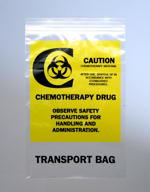Chemotherapy Drug Transport Bag, 6x9, 2 Mil, 1000/case