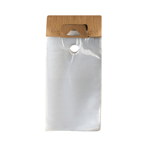 Hanging Literature Bags 1 5 Mil 6 X 12 Clear 1000 Case