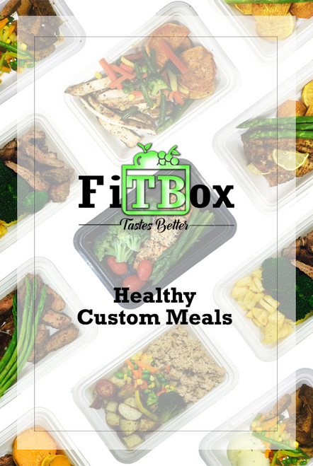 Custom Healthy Meals - More than 500 Combinations