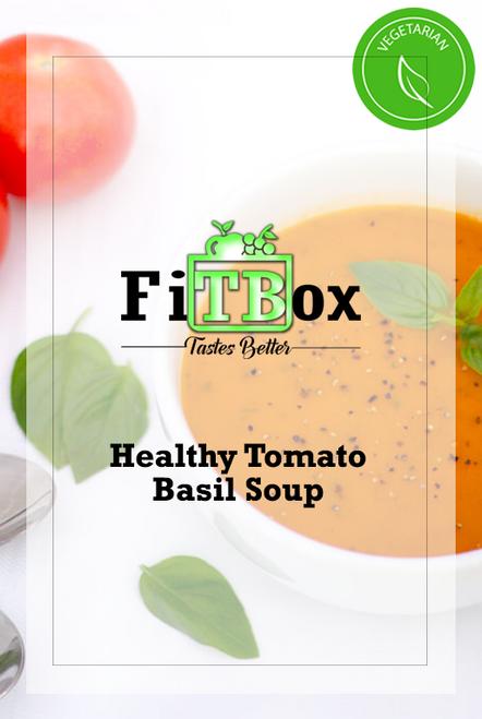 - VEGETARIAN - Healthy Tomato Basil Soup 16oz