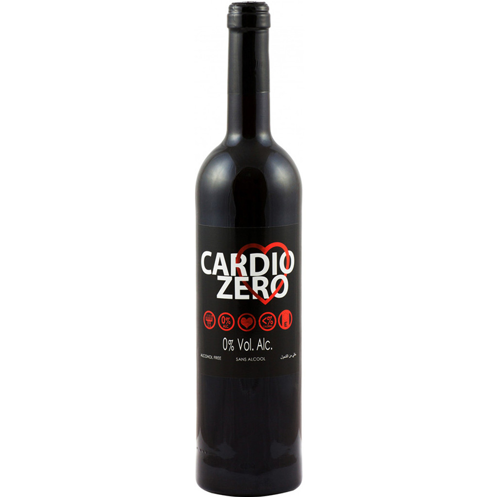 Elivo Cardio Zero Red Alcohol Free Red Wine