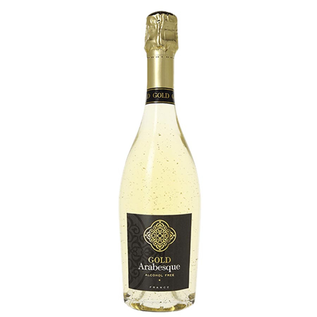 Pierre Chavin Gold Arabesque 24 Karat Alcohol Free Sparkling White Wine