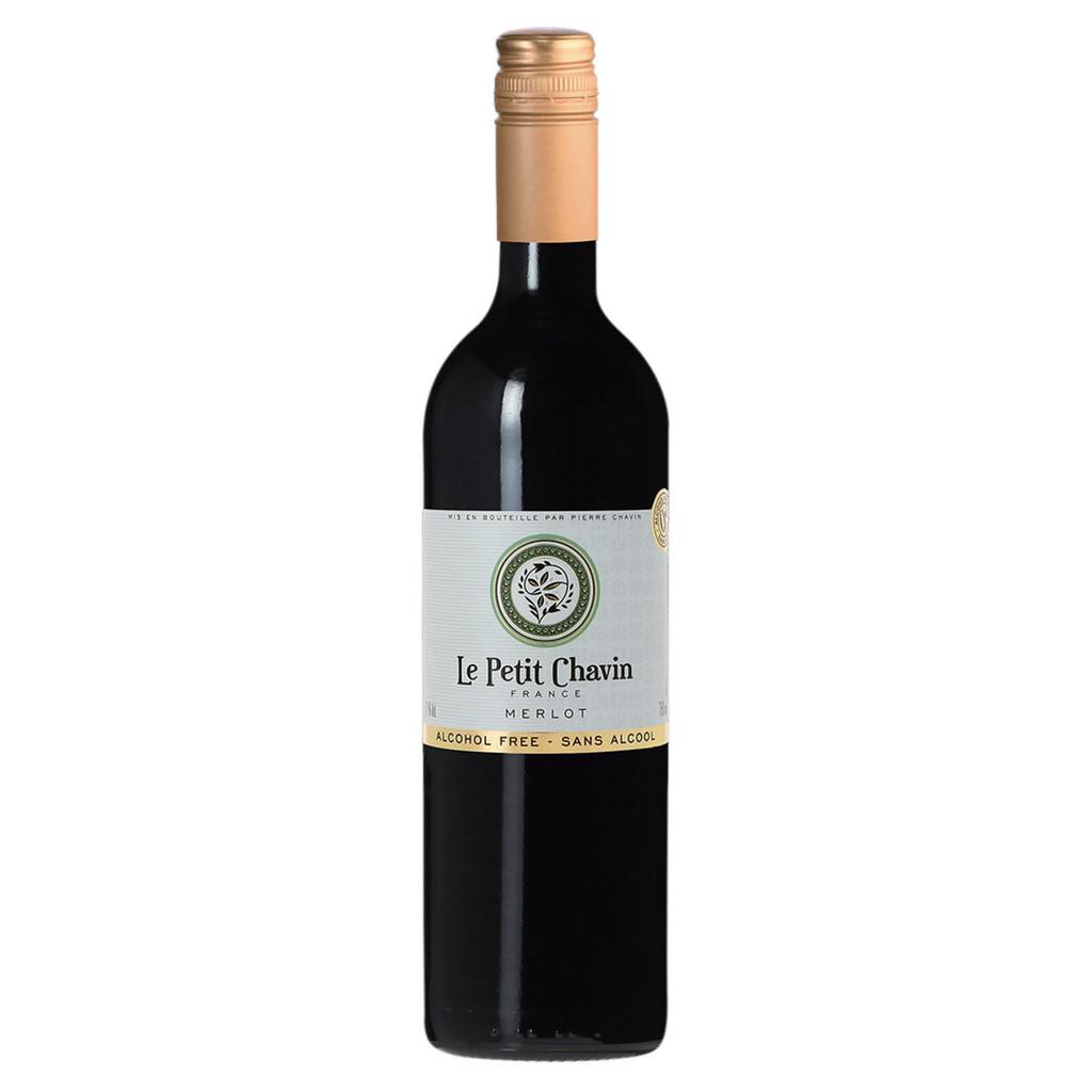 Le Petit Chavin Merlot Non-Alcoholic Red Wine 750ml