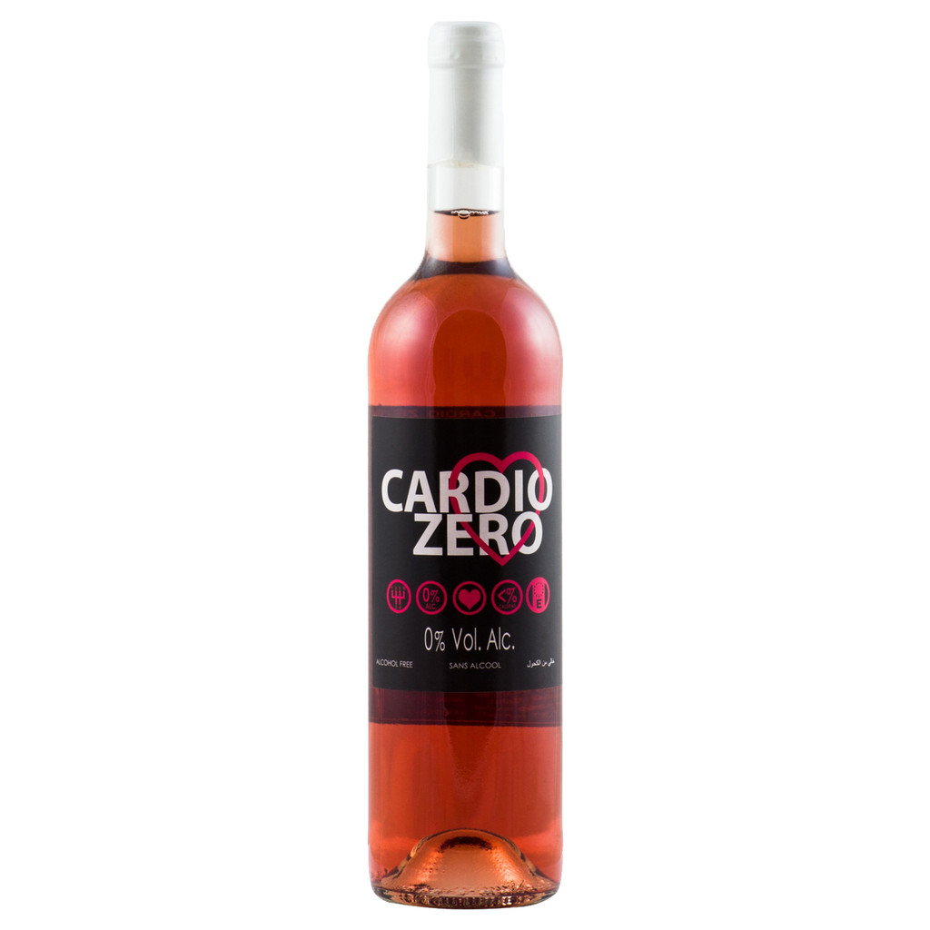 Elivo Cardio Zero Rose Alcohol Free Rose Wine