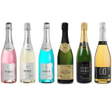 Non Alcoholic Sparkling Wine Sampler from France, Italy, and Spain