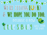 Lucky St. Patrick's Day Baby Announcement Ideas