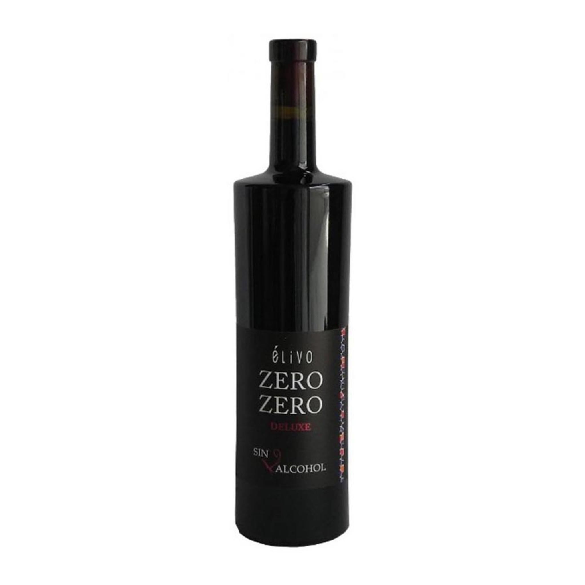 Elivo Zero Zero Deluxe Alcohol Free Red Wine 750ml