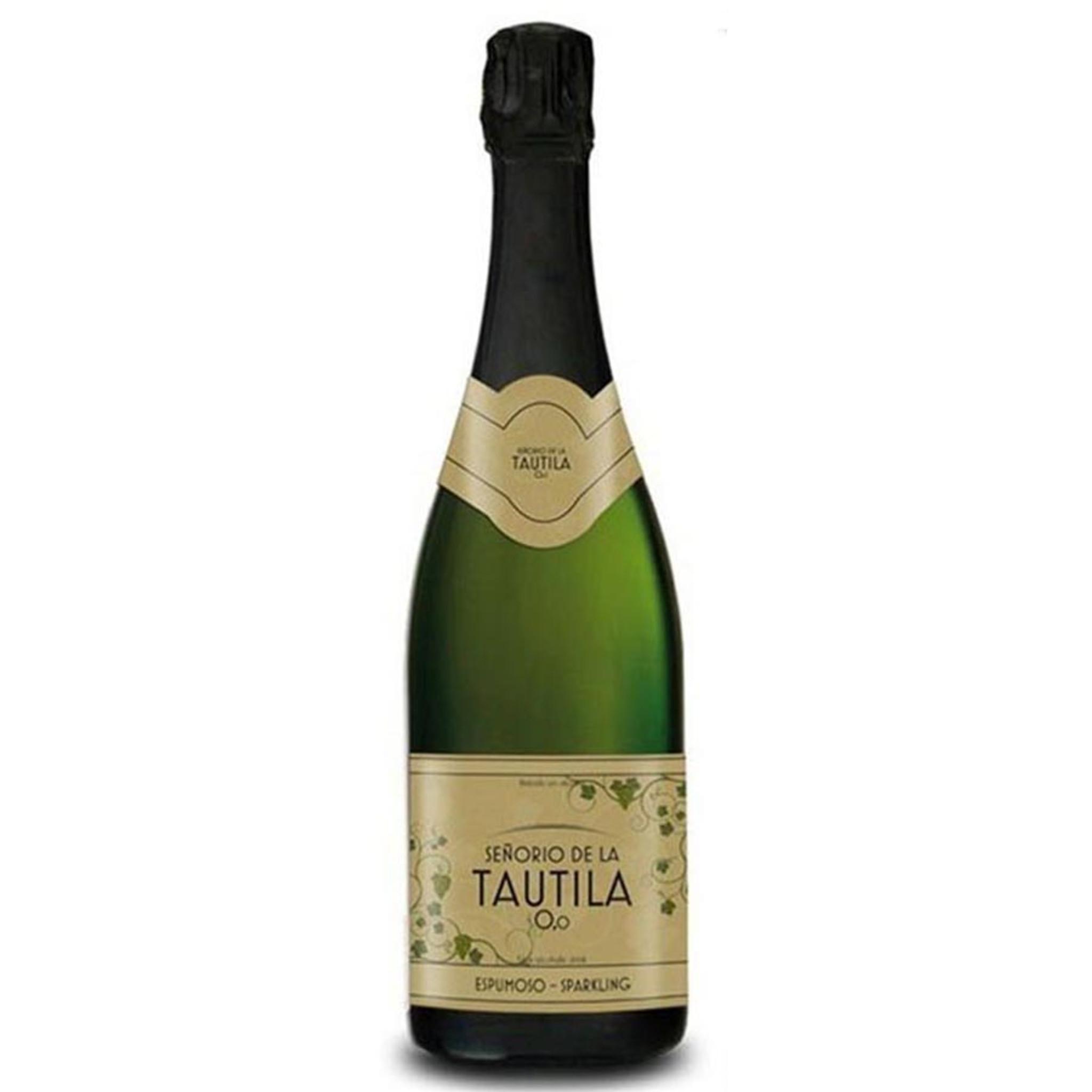 Senorio de la Tautila Espumoso Blanco Alcohol Free Sparkling White Wine 750ml