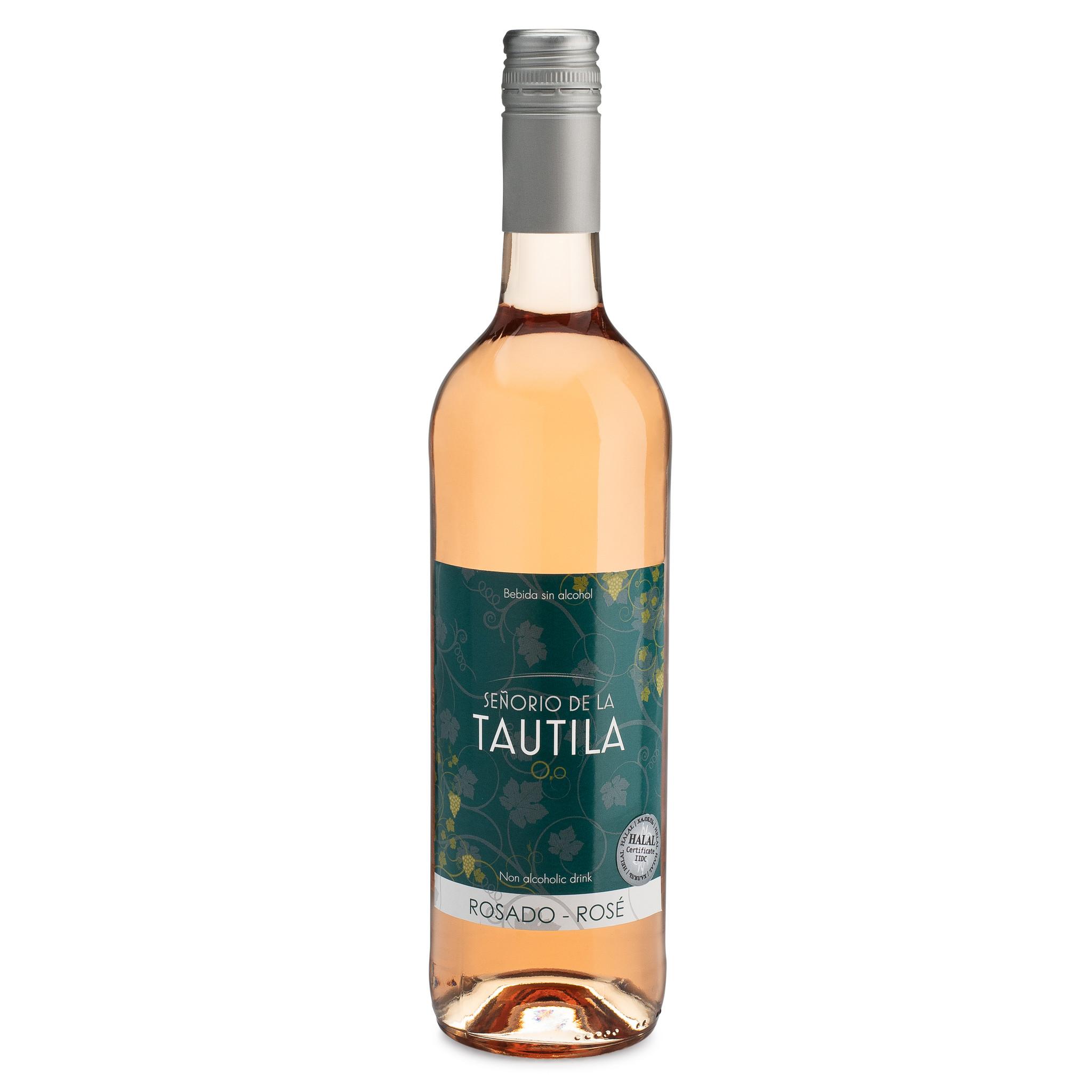 Tautila Rosado Non-Alcoholic Rose Wine