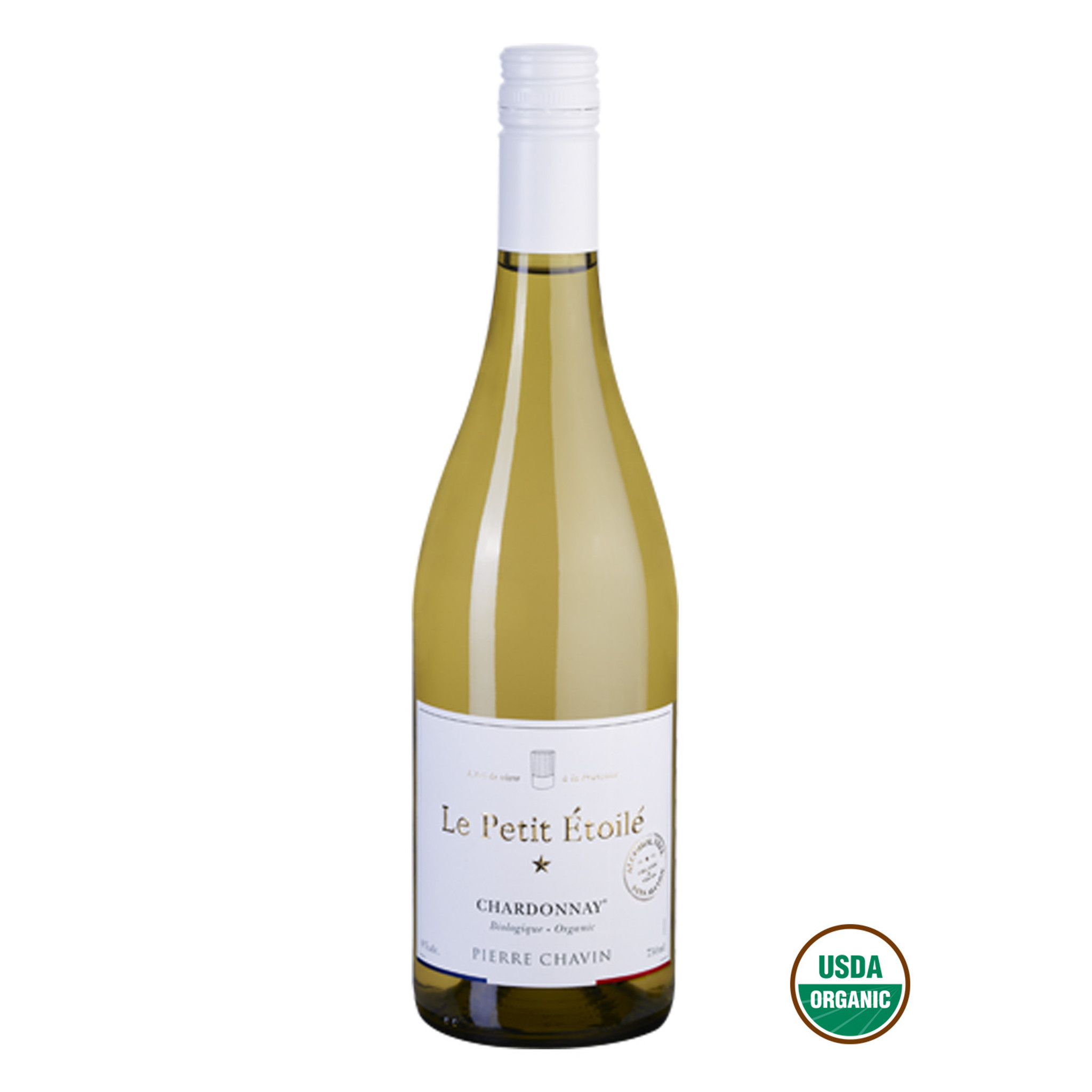 Le Petit Étoilé Chardonnay Organic Vegan Non Alcoholic White Wine
