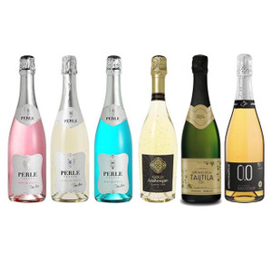 Sparkling Deluxe Assortment Featuring Six Non-Alcoholic Sparkling Wines 750 mL Each
