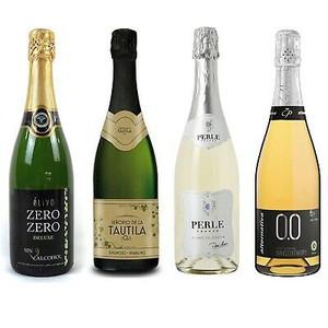 Non-Alcoholic Sparkling Wine Sampler of 4 Bottles
