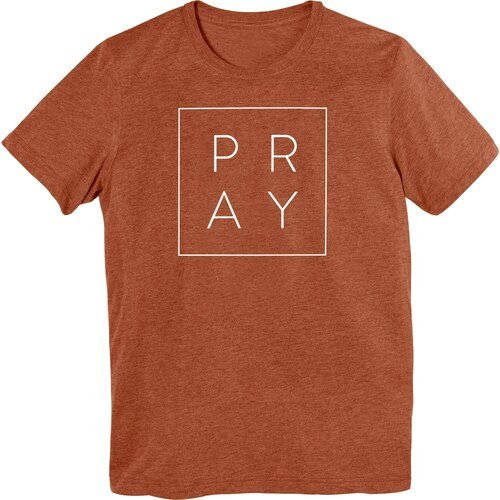 Pray Box T-Shirt Clay