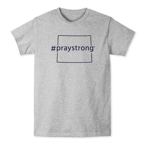 Wyoming #PrayStrong T-shirt