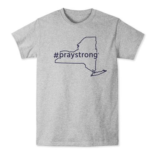 New York #Praystrong T-shirt