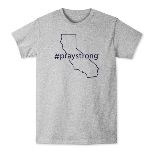 California #Praystrong T-shirt
