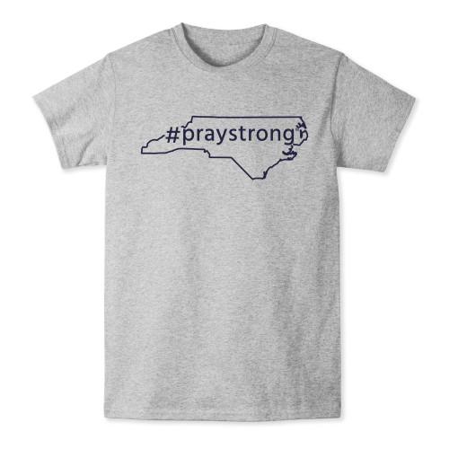 North Carolina #Praystrong T-shirt