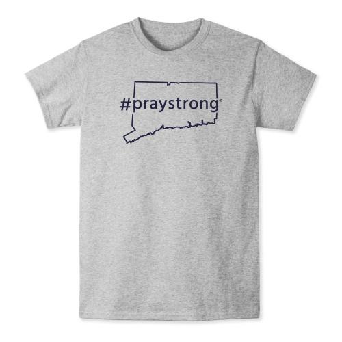 Connecticut #Praystrong T-shirt