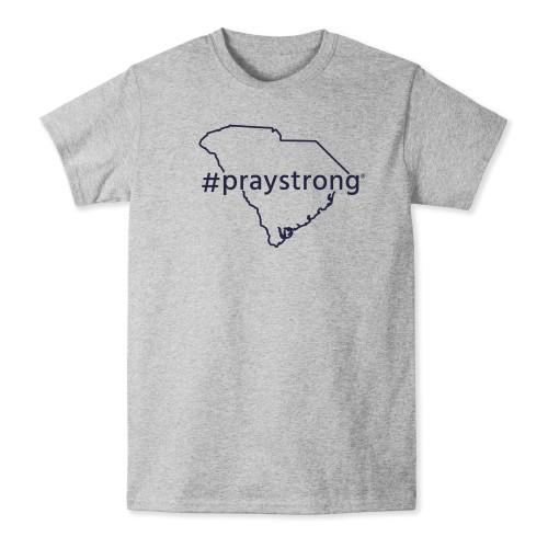state shirt, apparel, praystrong community shirt, grey south carolina t-shirt,
